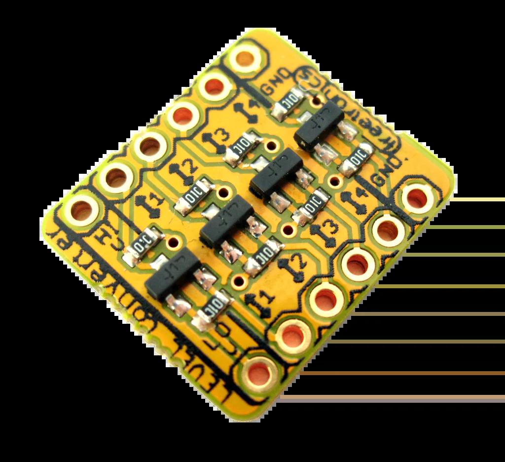 hight resolution of logic level converter module