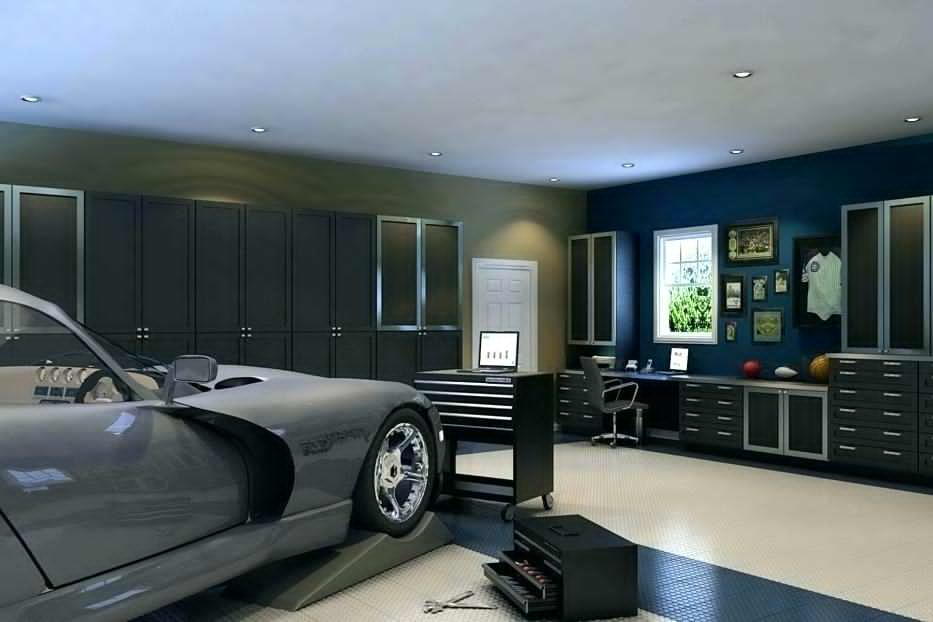 garage man cave ideas on a budget