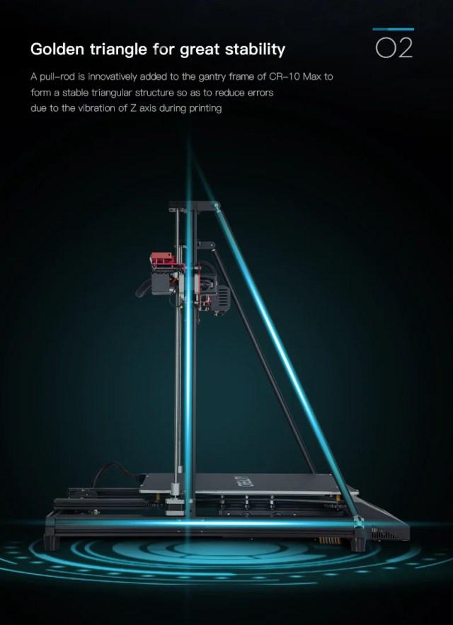 Official CrealityCR 10 Max 3D Printer