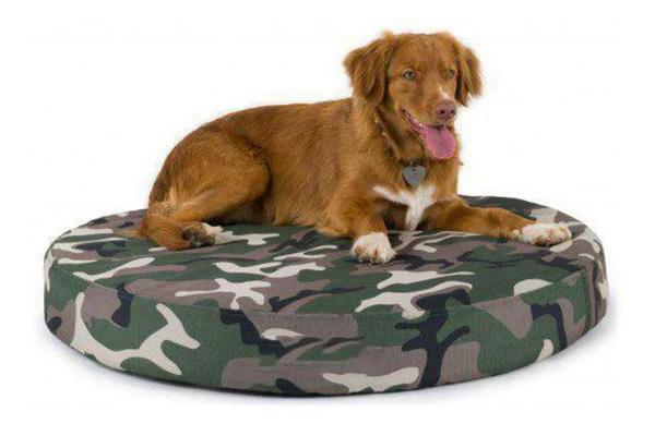 K9 Ballistics Orthopedic Round Tuff Dog Bed