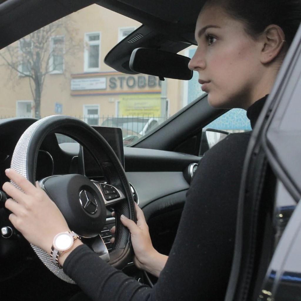 premium steering wheel cover