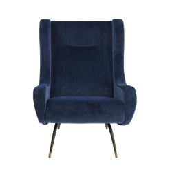 french velvet chair walmart outdoor hunter navy natalie jayne interiors
