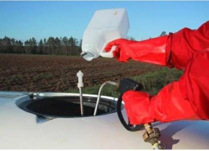 Utilisation pistolet rince bidons pour pulvérisation Phytolav®Avenir vert