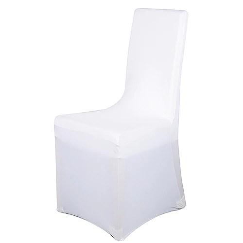 chair covers ivory vitra office chairs uk spandex banquet cover white