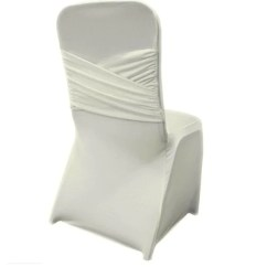 Spandex Chair Covers Cheap Swedish Design Lounge Chairs Madrid Cover Ivory Bbcrafts