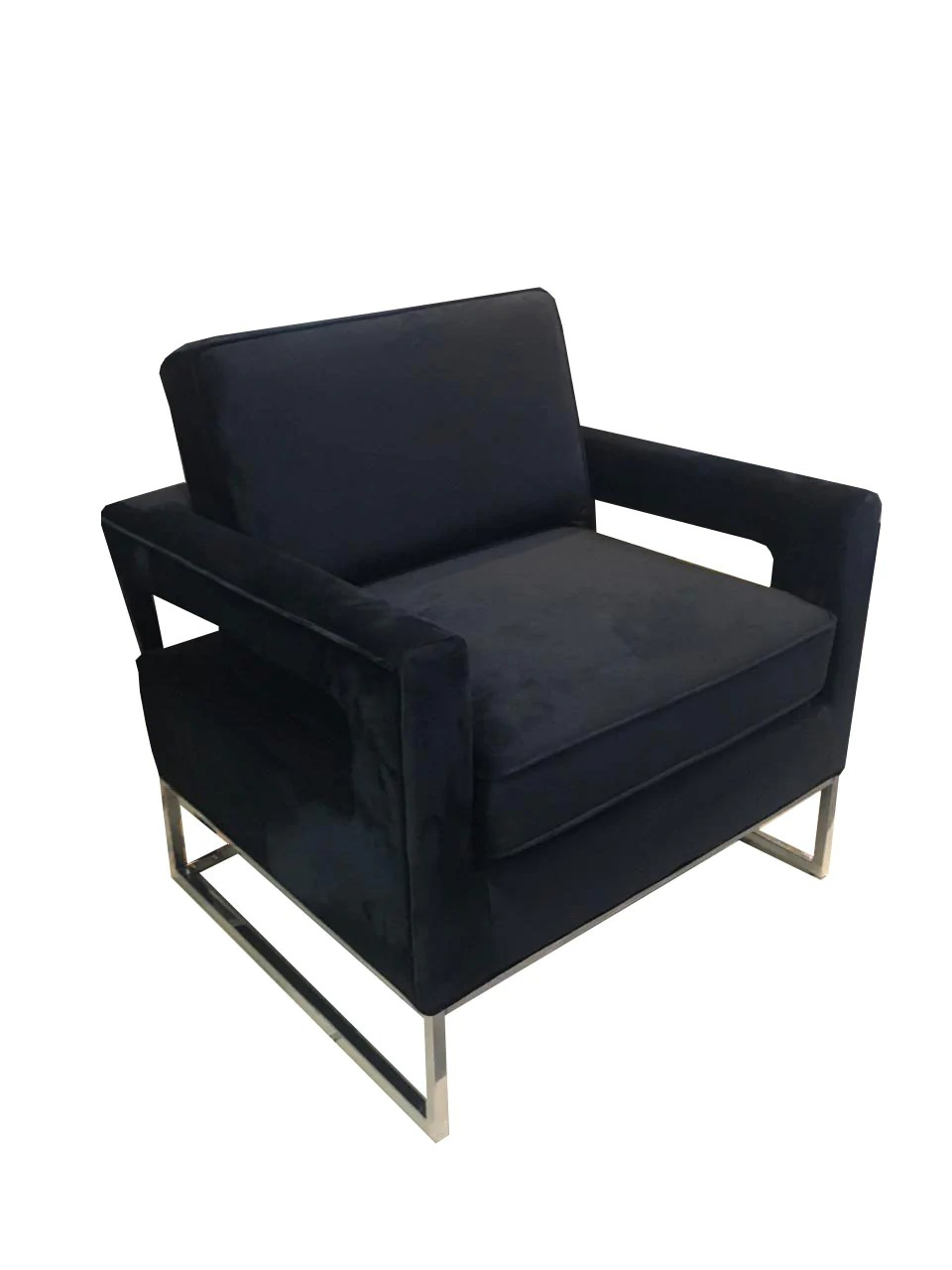 Black Accent Chairs Meridian Furniture Black Accent Chair