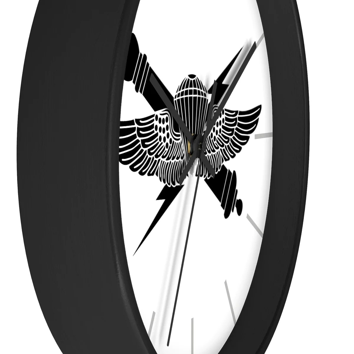 hight resolution of anglico black jack wall clock