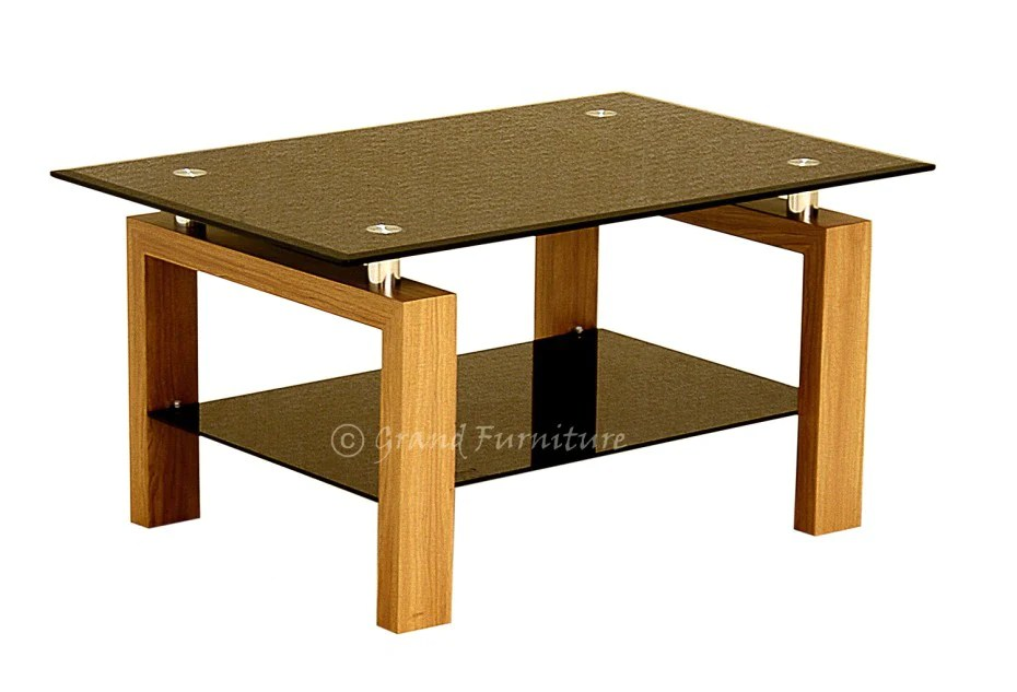 Modern Glass Coffee Table Black Glass Coffee Table Cheap Coffee Table Grand Furniture