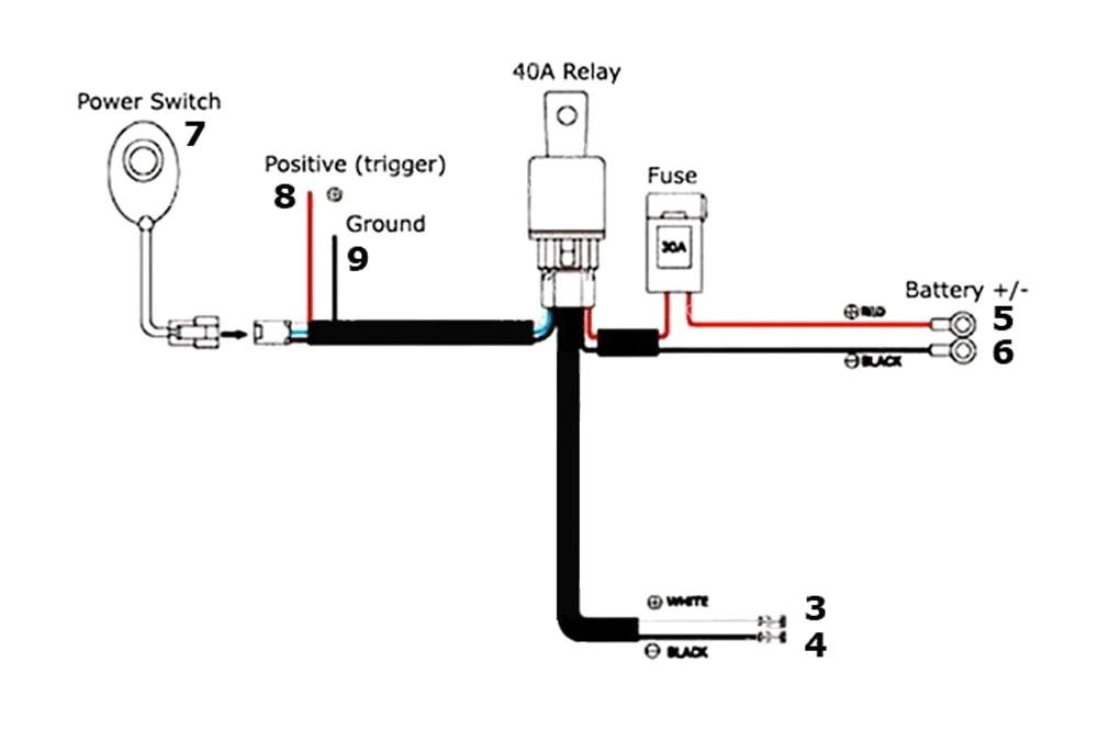 Off Road Light Wiring Diagram Database