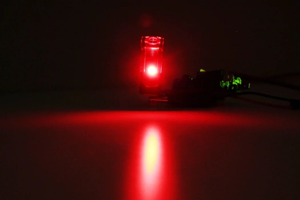Toggle Switches Mounting Plates Red Led Fighter Pilot Toggle Switch