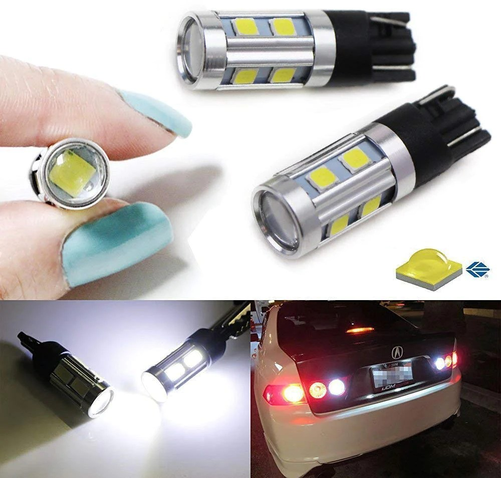 hight resolution of xenon white 3w cree with 8 smd 168 194 2825 912 921 t10 led bulbs