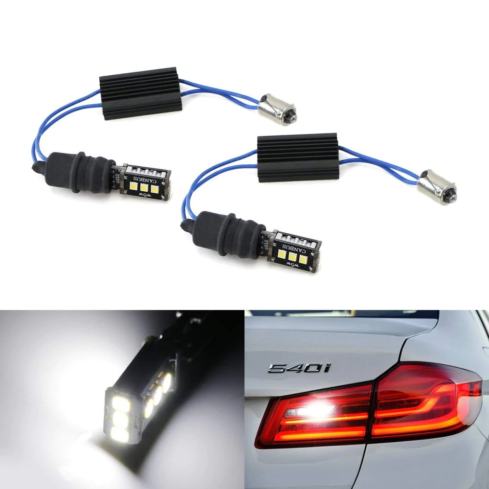 small resolution of 6000k xenon white can bus error free 9 smd 3030 led lighting kit