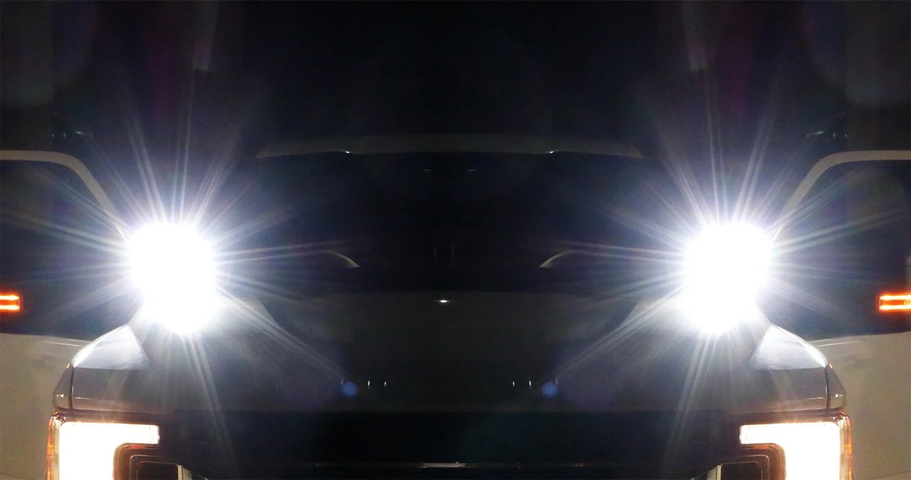 hight resolution of a pillar led pod light kit for 2017 up nissan titan includes