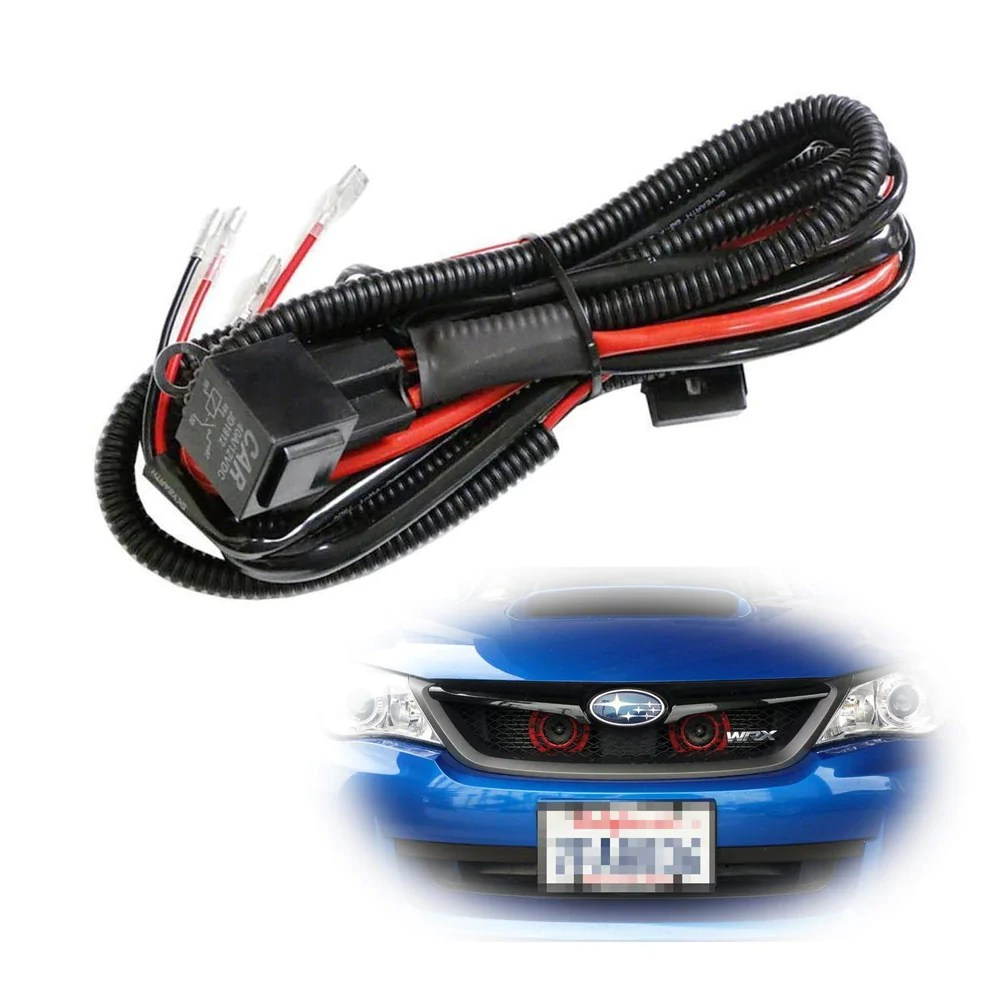 small resolution of 12v horn wiring harness relay kit for car truck grille mount blast tone horns actual