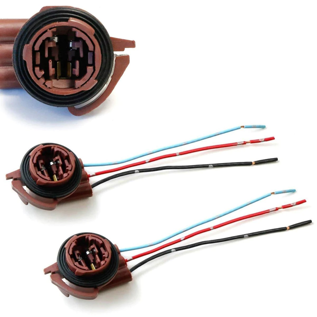 small resolution of 3156 3157 pre wired harness sockets for repair replacement ijdmtoy com