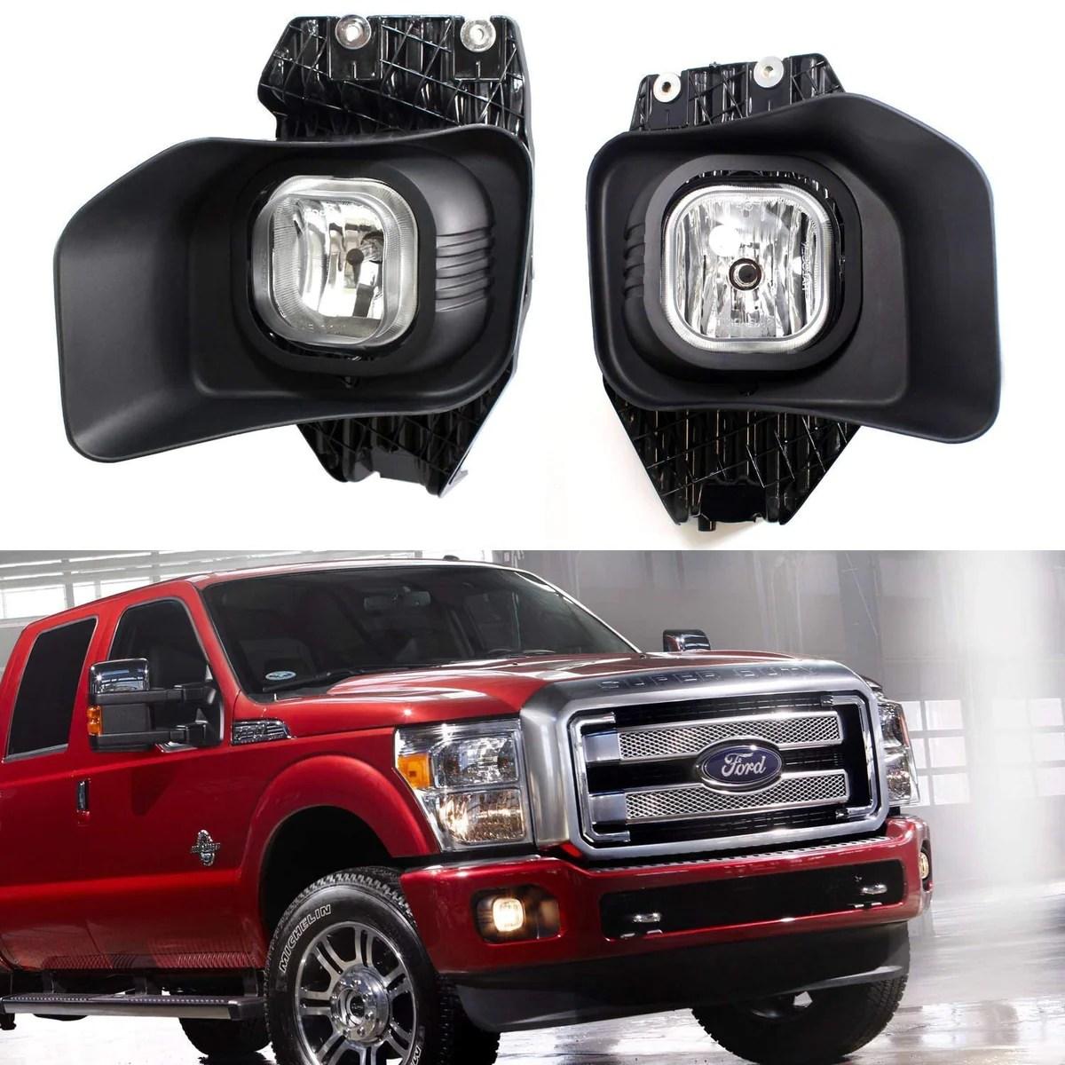 small resolution of 11 16 ford f 250 f 350 f 450 oem fit fog light assembly kit ijdmtoy com