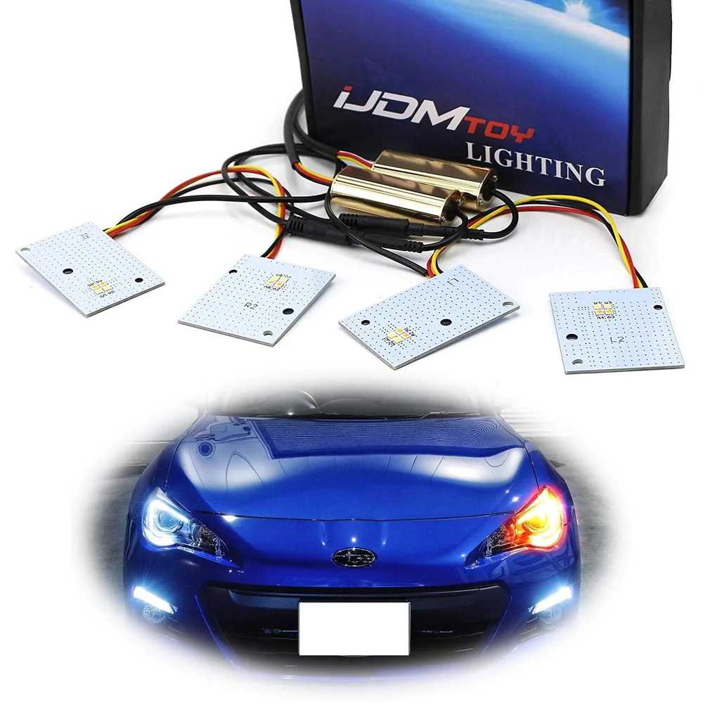 hight resolution of switchback led c ring headlight circuit boards for 2013 up subaru brz xenon