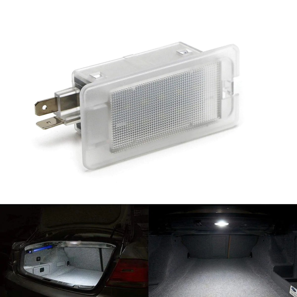 hight resolution of xenon white led trunk glove box light for hyundai accent elantra genesis coupe sonata kia optima forte rio k900 etc great as oem replacement powered by