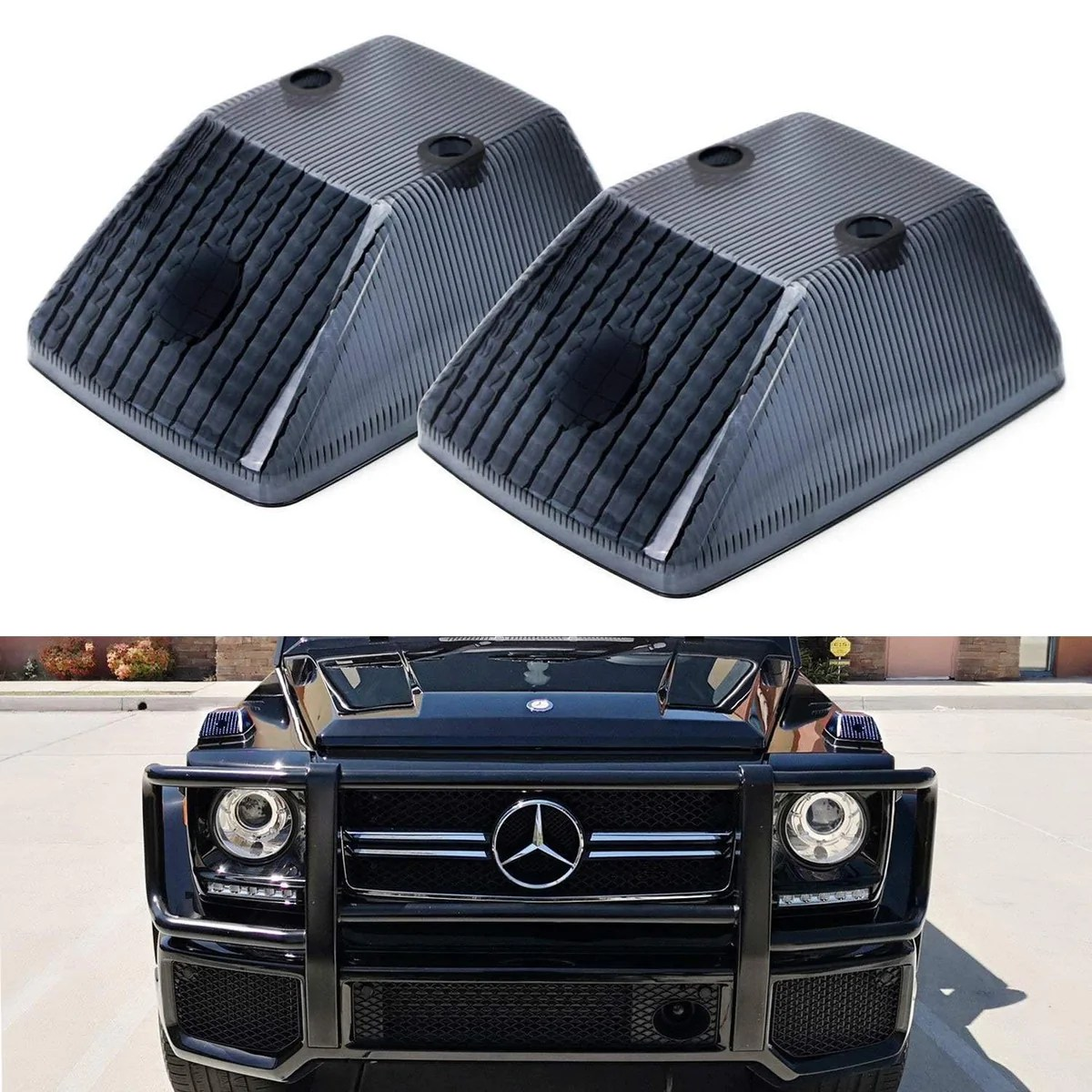 small resolution of 1986 18 mercedes w463 g class front turn signal lamp lenses ijdmtoy com