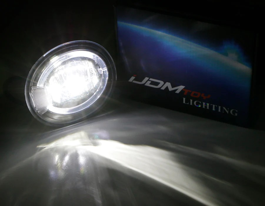 High Power Led Drl And Fog Lights With Wiring And Switch Toyota Aygo