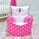 Personalised Minnie Mouse Bean Bag Chair Small World Baby Shop