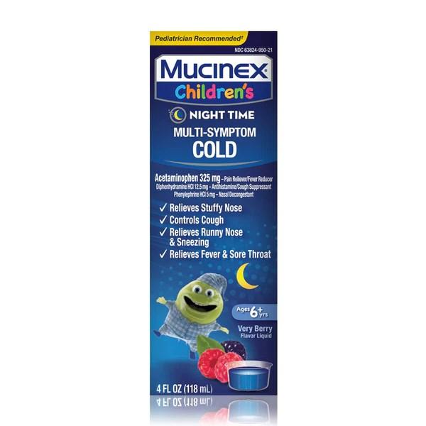 Nighttime Cold Medicine for Kids | Mucinex® USA