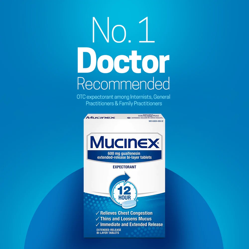 Mucinex® 12 Hour Extended Release Bi-Layer Tablets 6ct ...