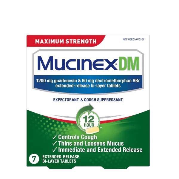 Expectorant and Cough Suppressant Tablets   Mucinex® USA