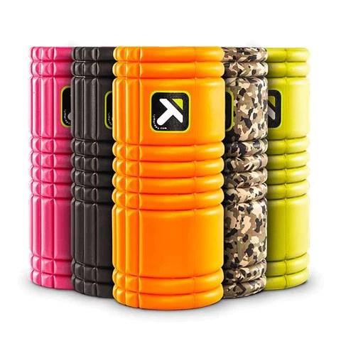 GRID Trigger Point Foam Roller for Recovery & Mobility