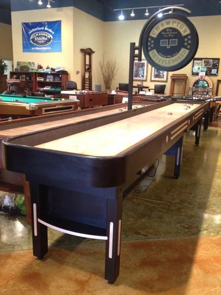 Champion Shuffleboard Grand Champion Shuffleboard Table