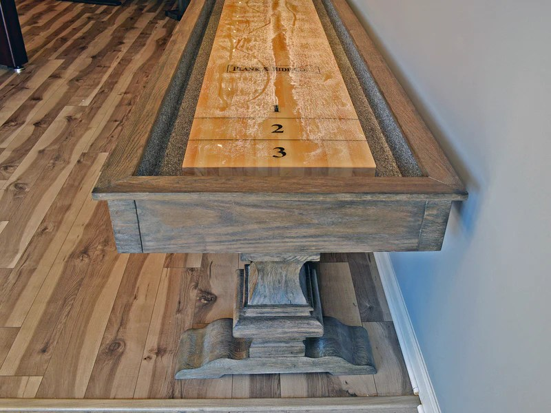 Plank and Hide Beaumont Shuffleboard Table  Robbies Billiards
