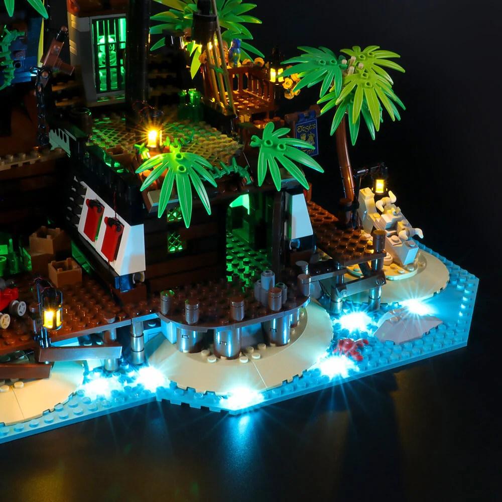 briksmax light kit for lego pirates of barracuda bay 21322