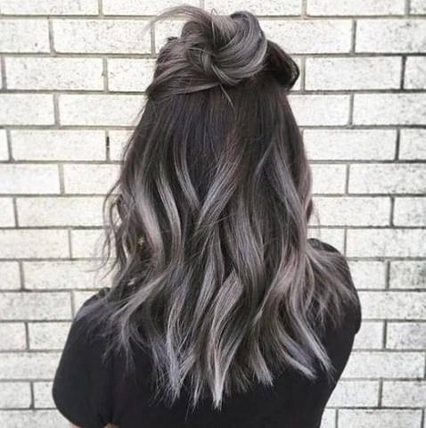 autumn dyed hair color