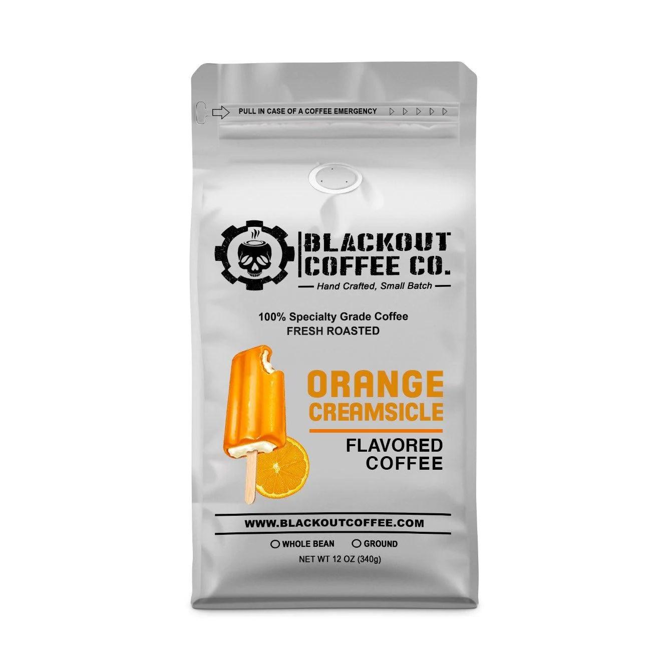 orange creamsicle flavored coffee