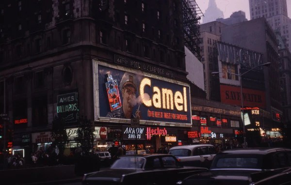 The Smoking Camel Sign of New York  HandEye Supply