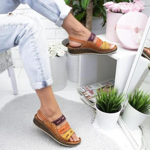 Dr Home™ - Three Color Posture Sandals Brown Color