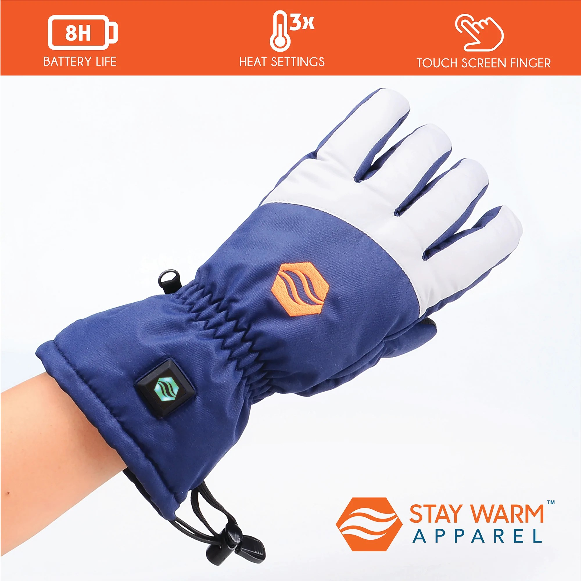 rechargeable heated gloves 3 level heated winter gloves for men women [ 2000 x 2000 Pixel ]