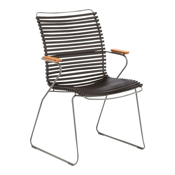 tall back dining chairs s bent bros colonial rocking chair houe click outdoor by henrik pedersen more images