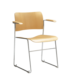 David Rowland Metal Chair Table Design Howe 40 4 Armchair Frame By Danish Store