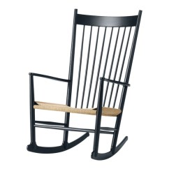 Hans Wegner Rocking Chair That Turns Into Bed Fredericia Furniture J16 By Danish Design Store