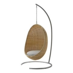 Egg Chair Stand Only Swivel Bottom Sika Design Hanging Cushion By Nanna Jorgen