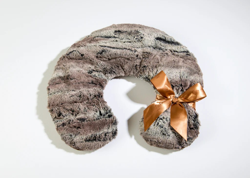 heated luxury spa neck pillows
