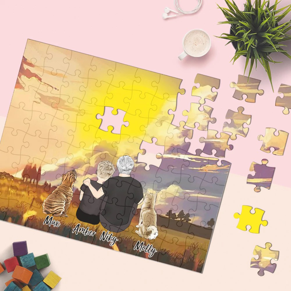 Custom Photo Jigsaw Puzzle Best Gifts 35 1000 Pieces