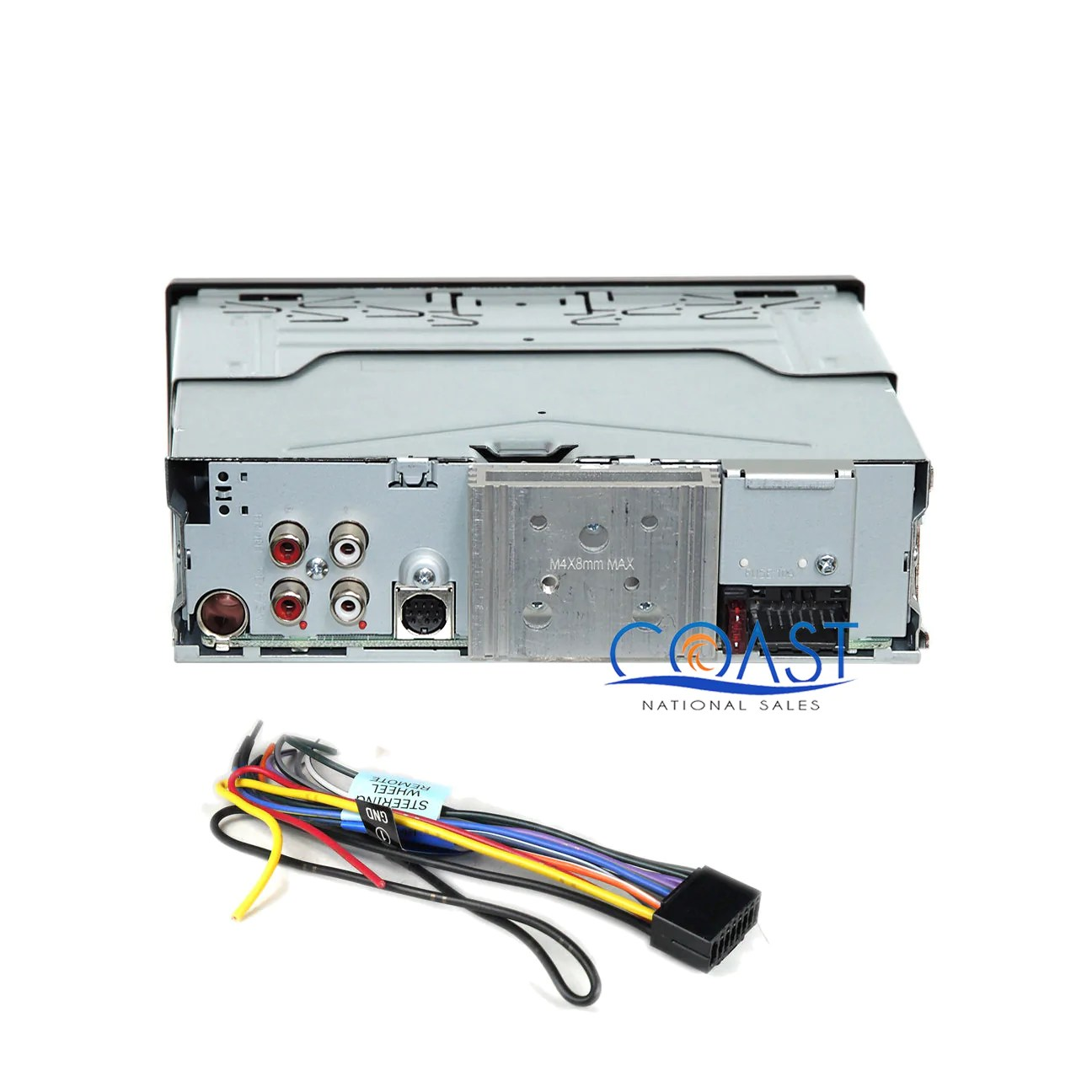 load image into gallery viewer jvc car stereo radio aux usb dash kit harness for  [ 1296 x 1296 Pixel ]