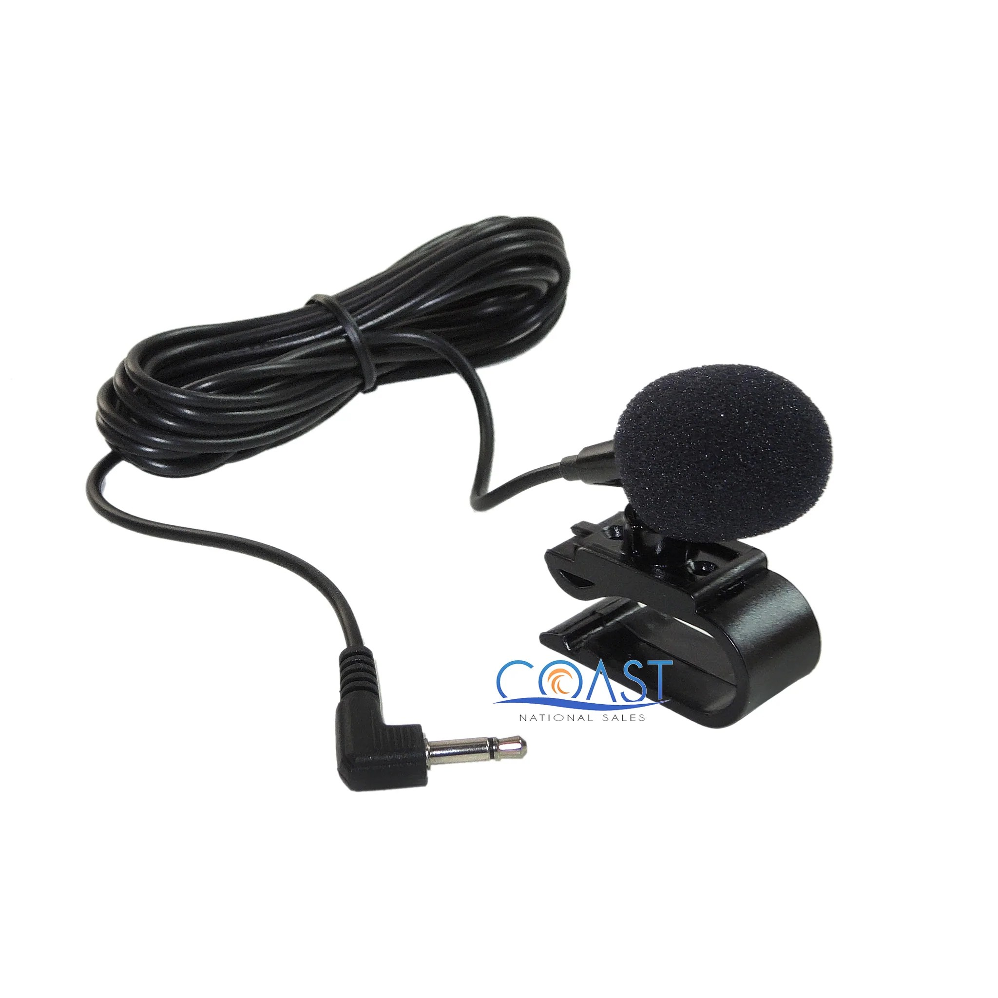 load image into gallery viewer car radio 3 5mm external microphone mic for bluetooth gps  [ 2048 x 2048 Pixel ]