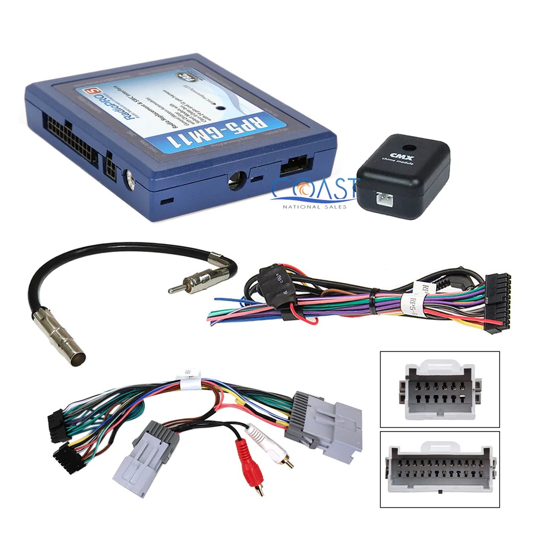 small resolution of pac rp5 gm11 gm lan radio replacement interface onstar steering wheel control