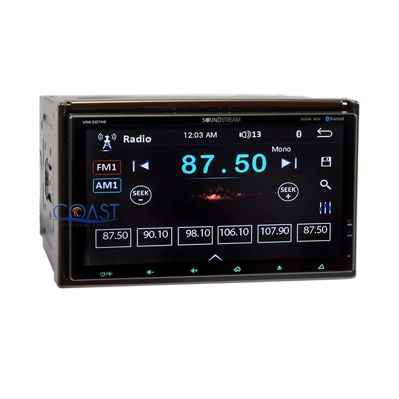 hight resolution of  load image into gallery viewer soundstream dual screen dvd stereo 2 din dash kit harness