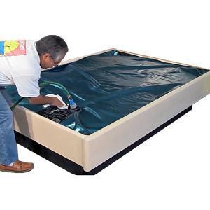 Sterling Sleep Free Flow Hardside Waterbed Mattress  www