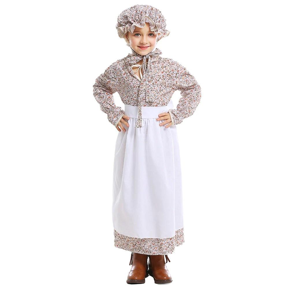 deguisement paysanne marche fille robe coloniale costume carnaval