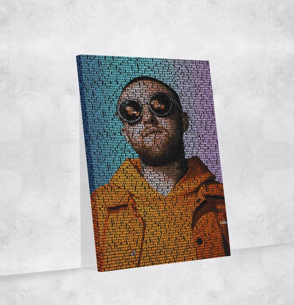 mac miller lyrical canvas